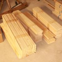 Profilholz zur Innenverkleidung