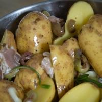 Kartoffel-Oliven-Mischung