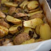 Oliven-Rosmarin-Kartoffeln aus dem Ofen