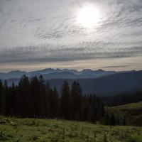 Reiteralpe und Hochkalter am Morgen